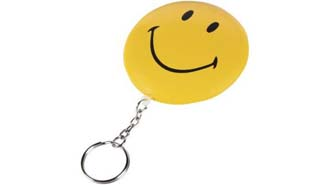 Porte-clés flottant Smiley