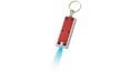 porte cles torche led marquage logo rouge