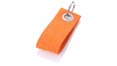strap key chain publicitaire orange